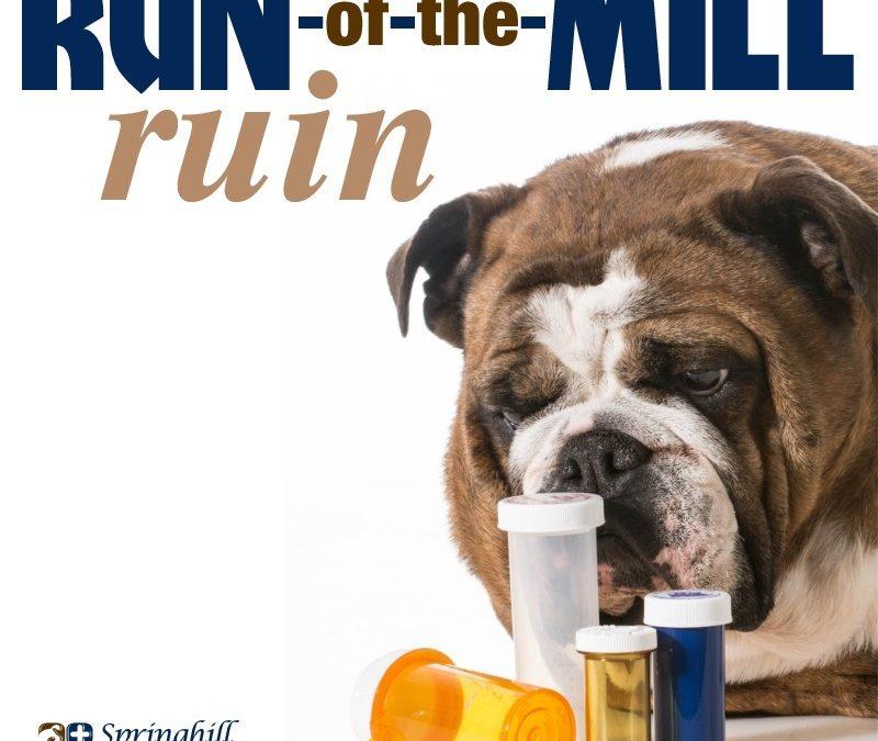 Run of the mill ruin